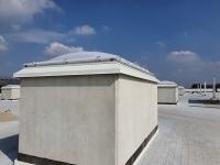 copertura lucernari nuovo stabilimento Saclà