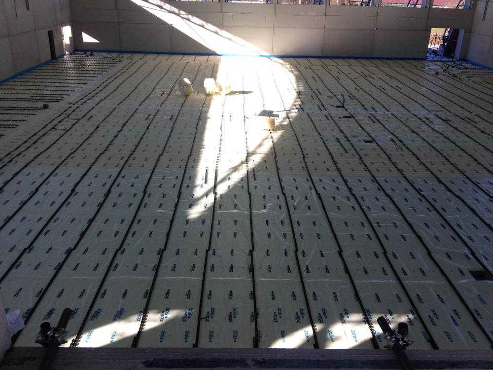Impianti di riscaldamento a pavimento fogliati gramaglia