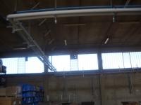 Tubazioni acqua refrigerata ed aria compressa stabilimento Doga Italia(lavoro industriale)